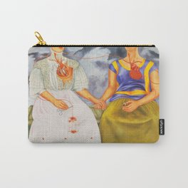 Two fridas art Carry-All Pouch