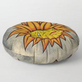 Skull Flower Floor Pillow