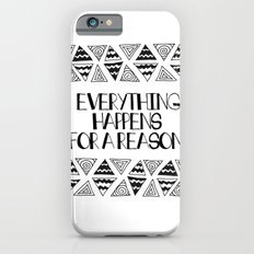 Triangles Saying 1 iPhone 6s Slim Case