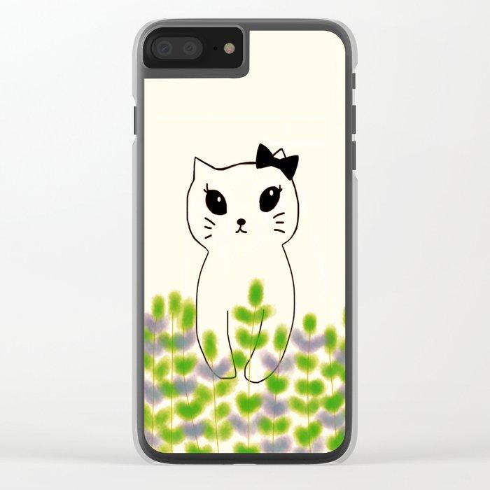 cat-180 Clear iPhone Case