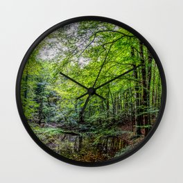 Forest Landscape Wall Clock