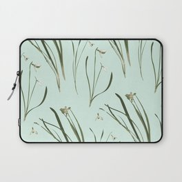 GALANTHUS IN MINT Laptop Sleeve