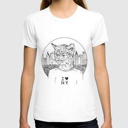 NY Cat T-shirt