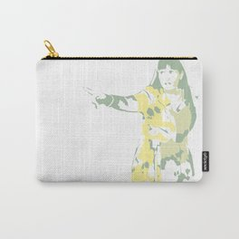 Lady Pointing Out Carry-All Pouch