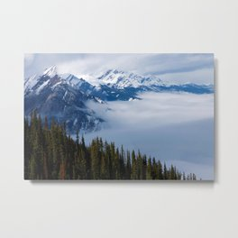 Sulphur mountain Metal Print
