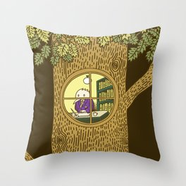 The Quire Throw Pillow