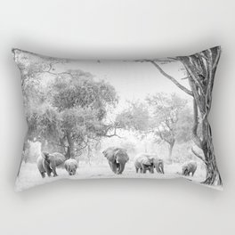 Luangwa Family Rectangular Pillow