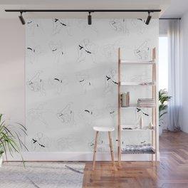 Judo Throw Pattern Wall Mural