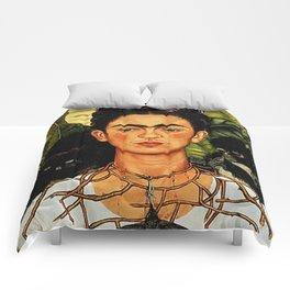 Frida Kahlo Cat Comforters