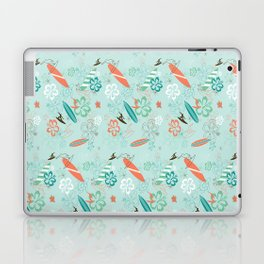 Surfs Up Blue Laptop & iPad Skin