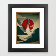 The Voyage Framed Art Print