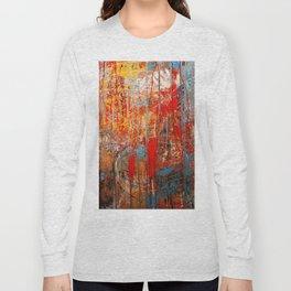 Dripping Wall Long Sleeve T-shirt