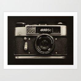 FED 5 | Vintage Camera Art Print
