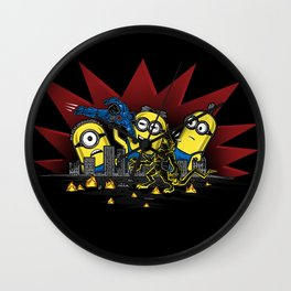 Despicable Playtime Wall Clock