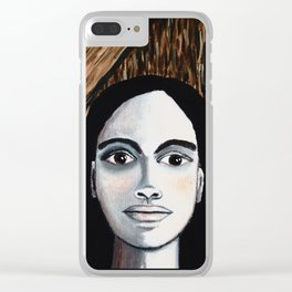 TIC TOC and FRIDA Clear iPhone Case