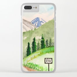 Million Dollar Highway - Ouray to Silverton CO Clear iPhone Case