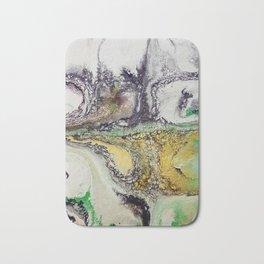 Weather cyclone, acrylic on canvas Bath Mat