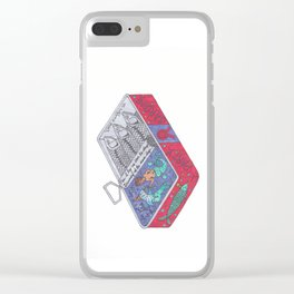 Party Sardine Clear iPhone Case