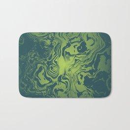 oil spill Bath Mat