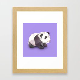 Panda. Framed Art Print