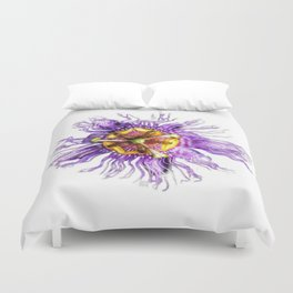 Passiflora incarnata Duvet Cover
