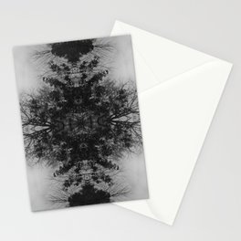 Symmetrical Branches Stationery Cards