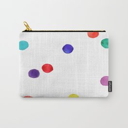 Rainbow spots Carry-All Pouch