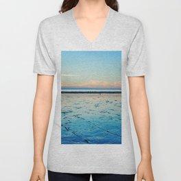Sunset on the Horizon I Unisex V-Neck