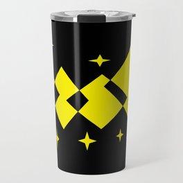checkered cab Travel Mug