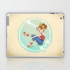 Fishbone Pin-up Laptop & iPad Skin