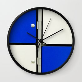 Gym Lockers Wall Clock