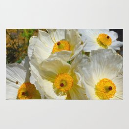 Mexican Poppies Rug