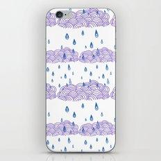 Raindrops keep falling... iPhone & iPod Skin