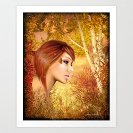 Tiger Lilly Art Print