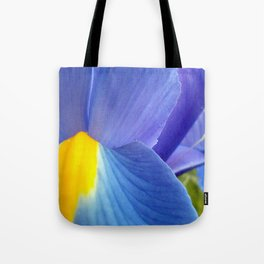 Blue Iris, 2012 Tote Bag