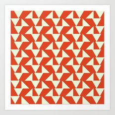 Orange summer Art Print