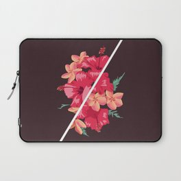 Flowers Out of Sync Laptop Sleeve