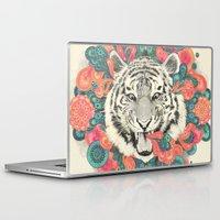 mandala Laptop & iPad Skins featuring bengal mandala by Laura Graves