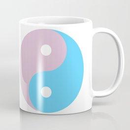 Transgender Yin Yang Symbol Coffee Mug