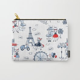 Fashion cats pattern Carry-All Pouch