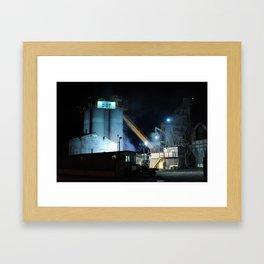 Industrial Zone Framed Art Print