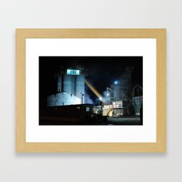 Industrial Zone Framed Art Print