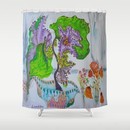 Afternoon flair Shower Curtain