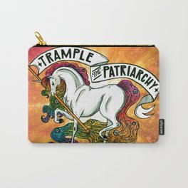 Trample the Patriarchy Carry-All Pouch