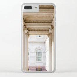 Down at City Hall Clear iPhone Case