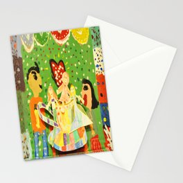 The cup of Rosalia | Full of fairy tales | Painting by Elisavet Stationery Cards