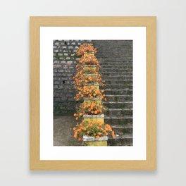 STEP BY STEP Framed Art Print