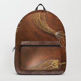Mermaid Fossil by Coreyartus Backpack