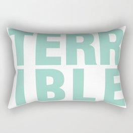 TERRIBLE Rectangular Pillow