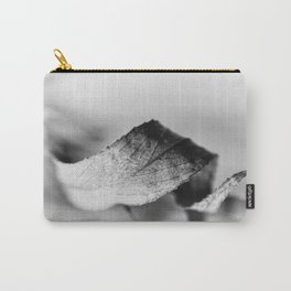Curled Elegance... (bw) Carry-All Pouch